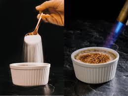 hōjicha crème brûlée