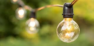 commercial grade globe string lights outdoor led globe lighting