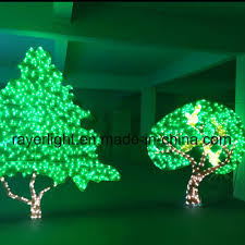 LED Tree Outdoor Decoration Christmas Lights For Sale