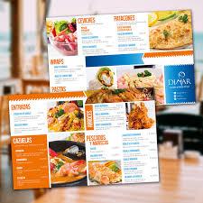 Creación De Carta Para El Restaurante Los Duendes Cartas