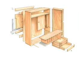 Sewing Cabinet Plans Build by Quick To Build Tool Cabinet Finewoodworking