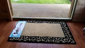 Fleur De Lis Reversible Patio Mats by Amazon Com Black Tan Beige Scroll Swirl Trellis Small Area Rug