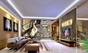 Home Interior Design Living Amazing Living Room Design With Stairs