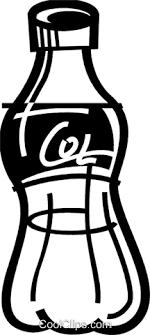 Soda and Softdrinks Royalty Free Vector Clip Art illustration