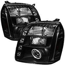 Depo Auto Lamps Catalog Pdf by Amazon Com Spyder Auto Pro Yd Gy07 Hl Bk Black Halo Projection
