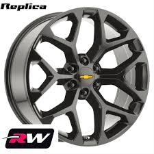 20 Inch Chevy Silverado 1500 Snowflake OE Replica Wheels 20x9 ... Oem 18 Chevy Avalanche Silverado Suburban Tahoe Wheel Goodyear Set Z71 Wheels Ebay Find Used Parts At Usedpartscentralcom Economical Upgrades 2010 Truckin Magazine Ltz 20 Truck Rims By Black Rhino Stock Ford F150 Wheels Rims Wheel Rim Stock Factory Oem Used Replacement Amazoncom Replicas V1130 Chevrolet Ss Matte 2017 2500hd 4wd First Test Review Toyota Replica Factory Aftermarket 4x4 Lifted Sota Offroad