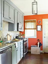 Paint An Accent Wall Add Pizzazz Without Pressure By Painting One In Your Kitchen A Bold Color The Terra Cotta Orange Spices