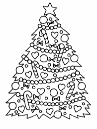 Christmas Tree Coloring Pages Printable Wallpapers9 Free