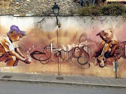 Famous Spanish Mural Artists by Graffiti In Granada The Backstreet Art Gallery Of Spain