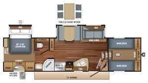 Jayco 2014 Fifth Wheel Floor Plans by Jayco Eagle Ht 29 5fbds 5th Wheel Floor Plan