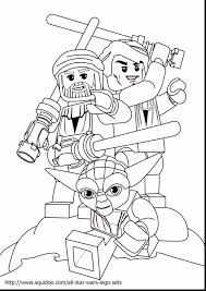 Marvelous Lego Star Wars Coloring Pages Print With Free And Chima