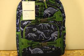 NEW Pottery Barn Kids Mackenzie Large Dino Backpack No Mono Sold ... Mackenzie Navy Shark Camo Bpacks Pottery Barn Kids Snap To Your Day With The Wildkin Crerjack Bpack Featured 25 Unique Dinosaur Kids Show Ideas On Pinterest Food For Baby Preschool Baby Gifts Clothing Shoes Accsories Accs Find For Your Vacations Boys Blue Dino Rolling Gray Jurassic Dinos Dinosaur Small And Bags 57882 Nwt Large New Rovio Full Size Space Angry Unipak Designs Soft Leash Bag Animal Window 1 Tiger Face Black Orange