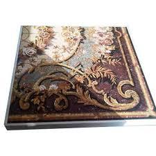 Mosaic Inlaid Flooring