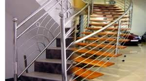 Stainless Steel Railing Design Manufacturer In Delhi - YouTube Stainless Steel Railing And Steps Stock Photo Royalty Free Image Metal Stair Handrail Wrought Iron Components Laluz Fniture Spiral Staircase Designs Ideas Photos With Modern Ss Staircase Glass 6 Best Design Steel Arstic Stairs Diy Rail Online Metals Blogonline Blog Railing Of Cable Glass Bar Brackets Wire Prices Pipe Exterior Railings More Reader Come With This Words Model Fantastic Picture Create Unique Handrailings Pinnacle