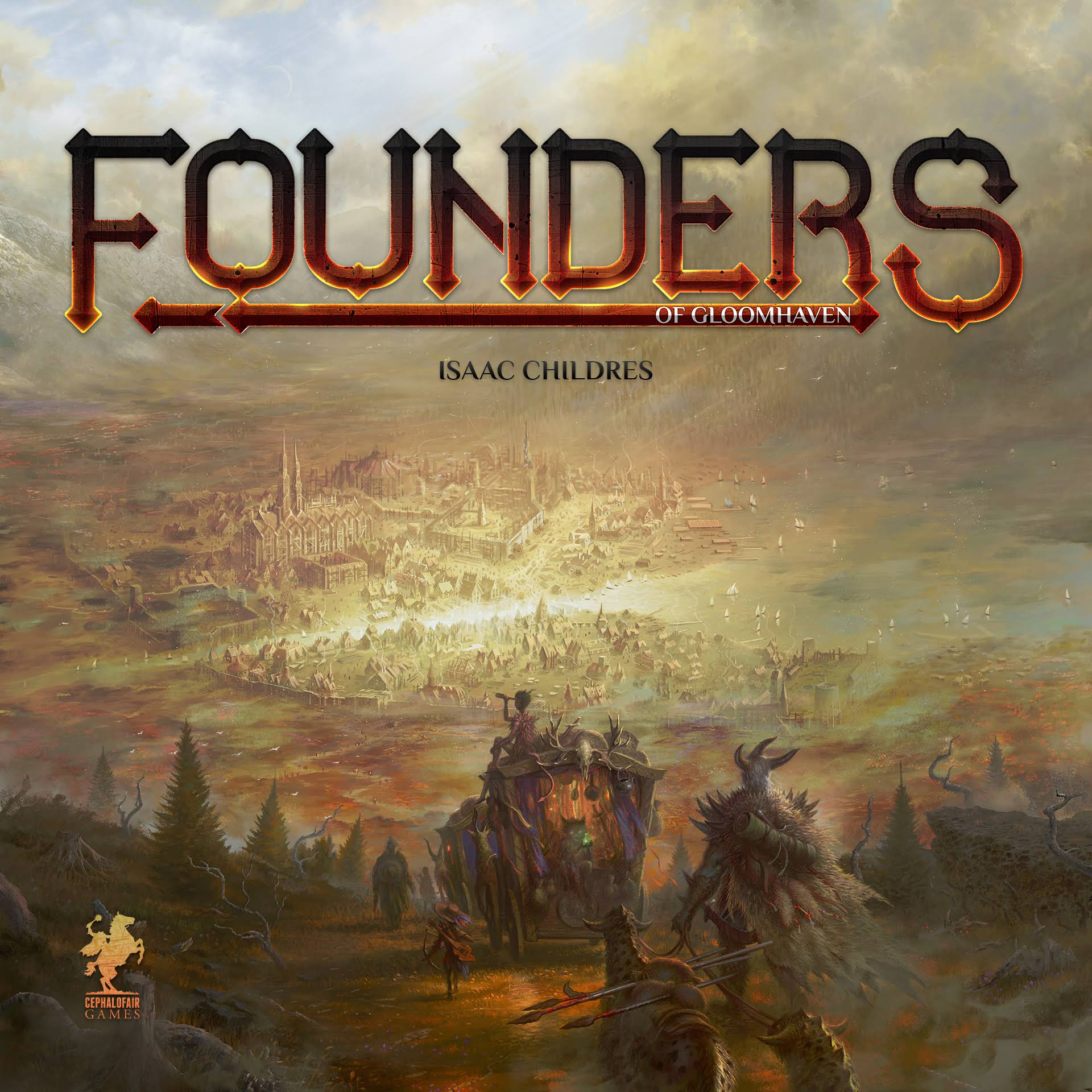 Founders of Gloomhaven Strategy Board Game