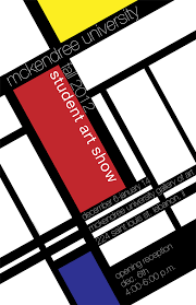 Faculty Show Fall 2012 Postcard Student Poster