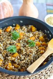 Pumpkin Risotto Recipe Vegan by Hearty Pumpkin Lentil Risotto