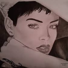 Work Rihanna Sketch Artist Drawing Paper