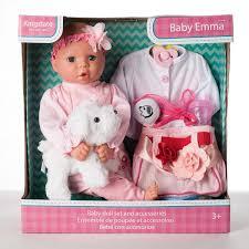 Kingstate Muñeca Baby Emma Con Accesorios Rosa Costco Mexico
