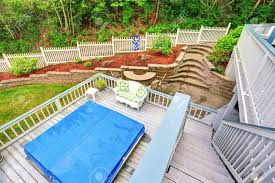 Two Level Backyard Deck With Jacuzzi On The First Floor And Patio ... Fiberon Two Level Deck Decks Fairfield County And Decking Walls Patios 2 Determing The Size Layout Of A Howtos Diy Backyard Landscape 8 Best Garden Design Ideas Landscaping Our Little Dirt Pit Stephanie Marchetti Sandpaper Glue Large Marine Style Home With Jacuzzi View Stock This House Has Sunken Living Room So People Can Be At Same 7331 Petursdale Ct Boulder Luxury Group Real Estate Patio The 25 Tiered On Pinterest Multi Retaing Wall Plants In Backyard Photo Image Bathroom Wooden Hot Tub Using Privacy Screen Pictures Arizona Pool San Diego