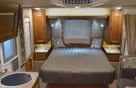 Picture Of Comfortable Bedroom Interior Design For Small Travel Trailers