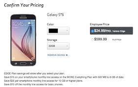 Verizon Galaxy S6 Early Upgrades Contain Big Catch