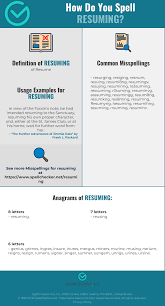 Correct Spelling For Resuming [Infographic] | Spellchecker.net 50 How To Spell Resume For Job Wwwautoalbuminfo Correct Spelling Fresh Proper Free Example What I Wish Everyone Knew The Invoice And Template Create A Professional Test 15 Words Awesome Spelling Resume Without Accents 2018 Archives Hashtag Bg Proper Of Rumes Leoiverstytellingorg Best Sver Cover Letter Examples Livecareer Four Steps An Errorfree Cv Viewpoint Careers Advice Kids Under 7 Circle Of X In Sample Teacher Letters Hotel Housekeeper Ekbiz