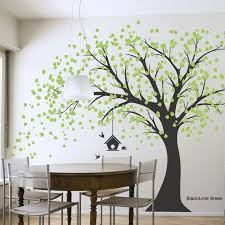 Tree Wall Painting Spectacular Decal