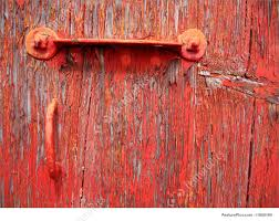Old Red Paint Texture