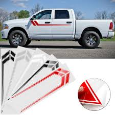 100 Truck Door Decals Car Side Door Stripe Stickers Decoration Decals 170x23cm Pair For