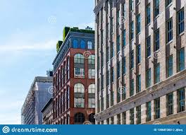 100 Luxury Apartments Tribeca Apartment Buildings In In New York Stock Image