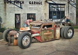 Rat Rod Tow Truck ........ Hot Rod Art By Rat Rod Studios, Www ...