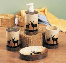 rustic bathroom decor sets home design and decorating