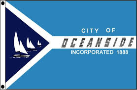 City Of Oceanside CA Outdoor Flag