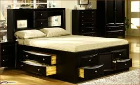 40 King Size Bed Frame Plans With Storage Queen Storage Bed Plans