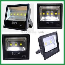 100w 150w 200w 250w led flood light square l industrial light