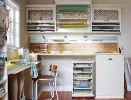 Charming Sewing Craft Room Furniture Design Integrating Dressing