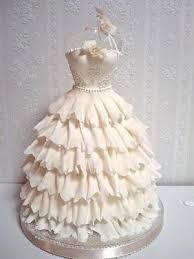 Wedding Dresses Wedding Gown Shaped Wedding Cake Weddbook