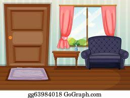 living room clip royalty free gograph