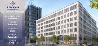scpi de bureaux la scpi epargne foncière acquiert un immeuble de bureaux à berlin