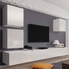 details zu wohnwand lucas 22 tv lowboard tv schrank hängwand hängend hochglanz vitrine m24
