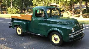 100 1962 Dodge Truck Restored 1953 BSeries Pickup Hammers For 26K Motorious