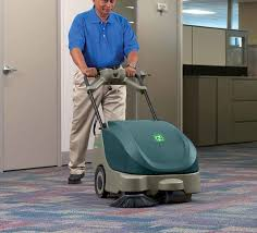 Tennant Floor Machine Batteries by Scout 5 Compact Battery Walk Behind Sweeper