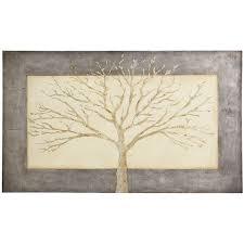 Stunning Simplicity Gray Tree Art