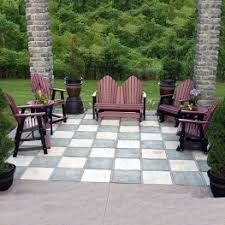 Premium Poly Patios Millersburg Oh by Berlin Gardens Cozi Back Collection