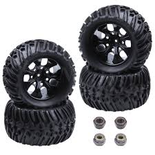 4 Pieces 125mm RC 1/10 Truck Wheels & Tires 12mm Hex For Off Road ... Tamiya 110 Super Clod Buster 4wd Kit Towerhobbiescom Mud Slingers Monster Size 40 Series 38 Tires 4pcs 140mm 28 Inch Rc Wheel 18 Truck 17mm Hex Hub How To Make Dubs Donk Wheels For Your Cartruck Like A Boss Best Choice Products Powerful Remote Control Rock Crawler Gear Head Rc Soup Traxxas Rustler 4x4 Vxl Stadium 4 Pieces 125mm 12mm For Off Road With Steering Scale 24g Jlb Racing 11101 Eetach Brushless Rtr 34844 Large Kids Big Toy Car 24