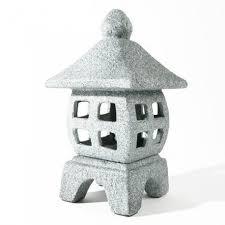 lanterne japonaise carrée en ceramique 30cm modele 2 boutique japon