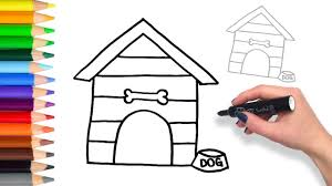 Learn How To Draw Dog House