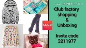 Club Factory Shopping & Unboxing | Coupon Code | I & U Creation