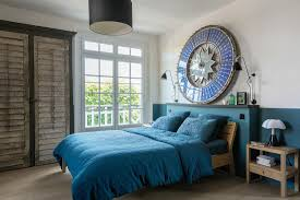 schlafzimmer mit petrolfarbener bild kaufen 11991855